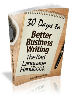 30 Days to Better Business Writing cover