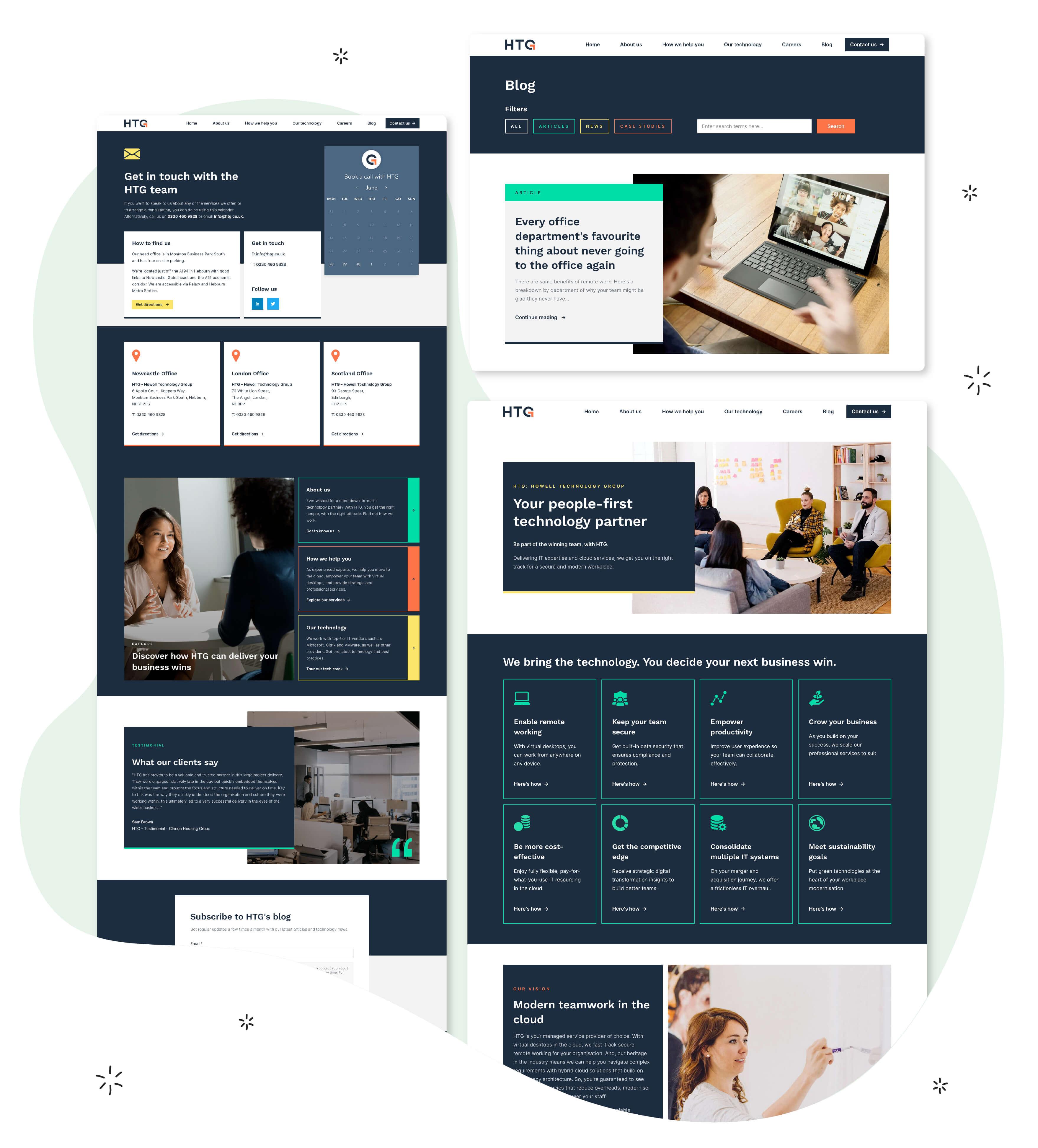 Articulate Marketing Case Study - A winning HubSpot website for HTG - Design-Showcase-02