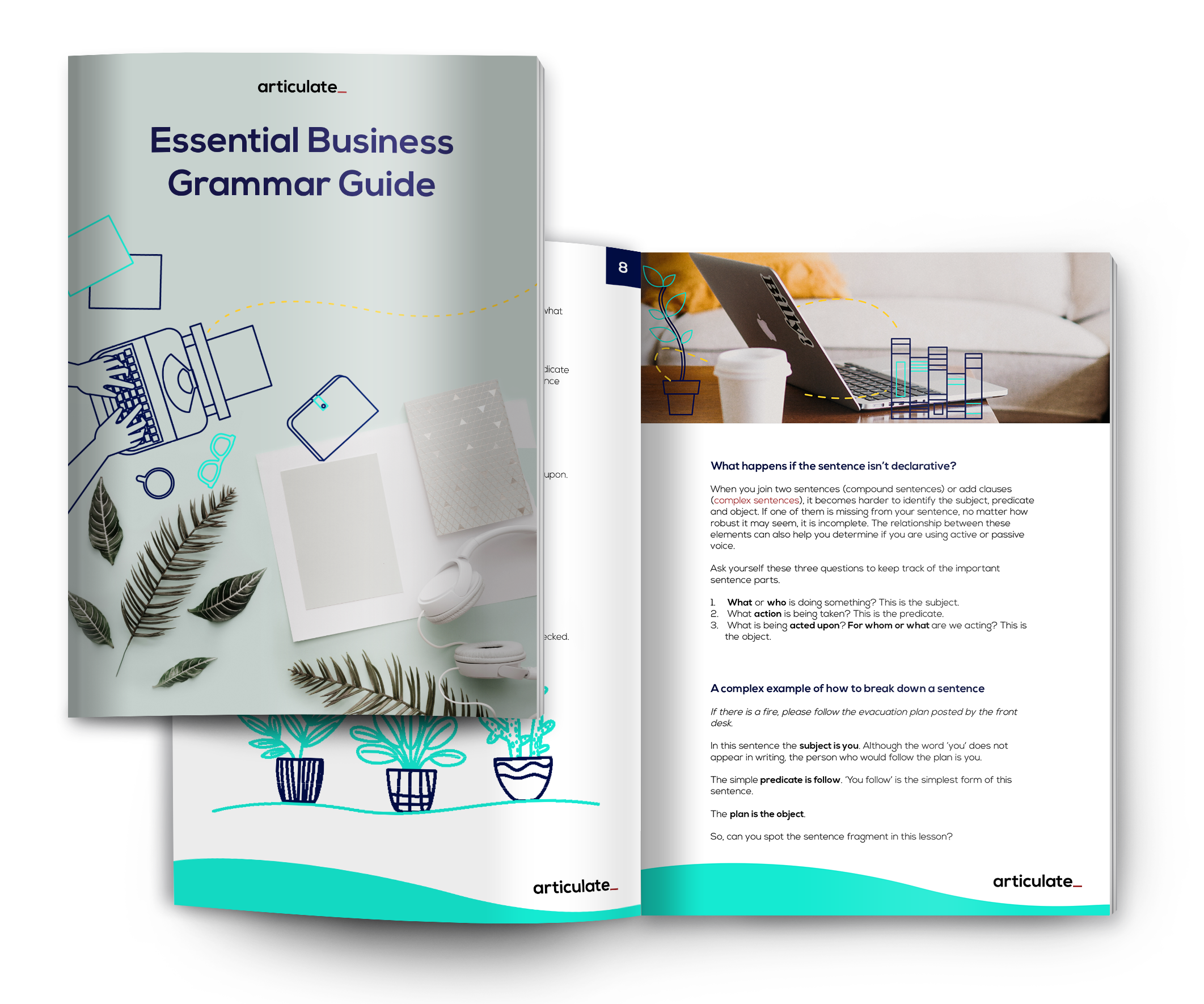 Free 60-page ebook Essential Business Grammar Guide